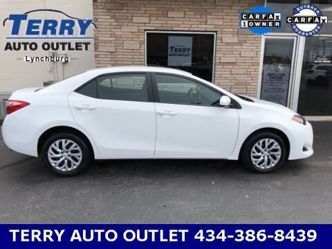 2019 Toyota Corolla for sale at Terry Auto Outlet in Lynchburg VA