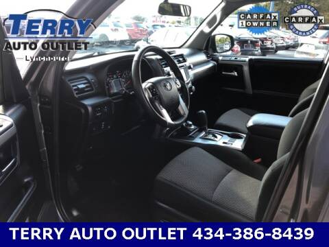 2019 Toyota 4Runner for sale at Terry Auto Outlet in Lynchburg VA