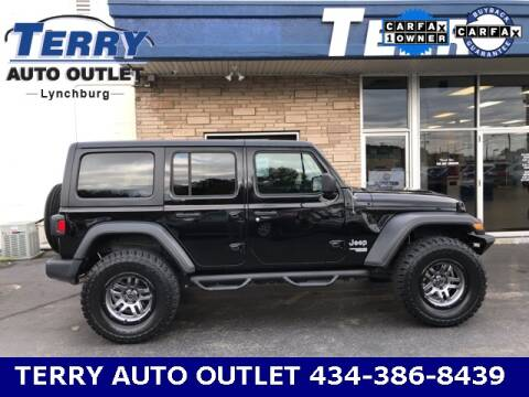 2019 Jeep Wrangler Unlimited for sale at Terry Auto Outlet in Lynchburg VA