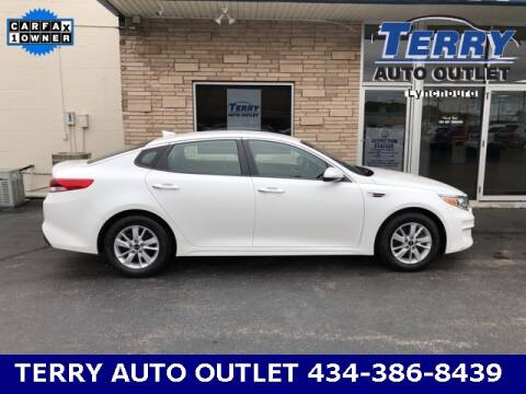 2016 Kia Optima for sale at Terry Auto Outlet in Lynchburg VA