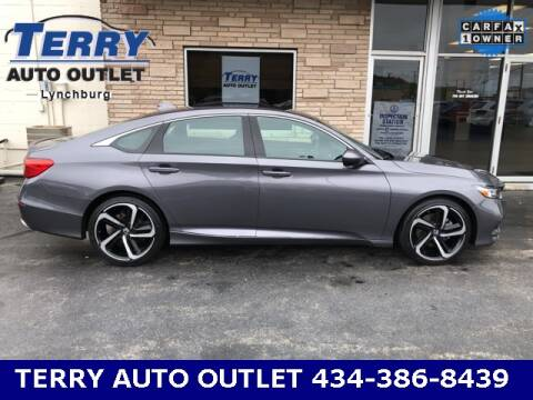 2018 Honda Accord for sale at Terry Auto Outlet in Lynchburg VA