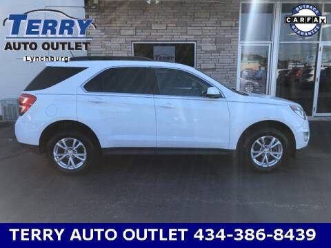 2016 Chevrolet Equinox for sale at Terry Auto Outlet in Lynchburg VA