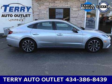2020 Hyundai Sonata for sale at Terry Auto Outlet in Lynchburg VA