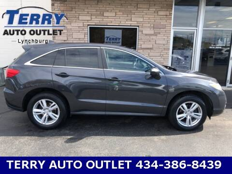 2013 Acura RDX for sale at Terry Auto Outlet in Lynchburg VA