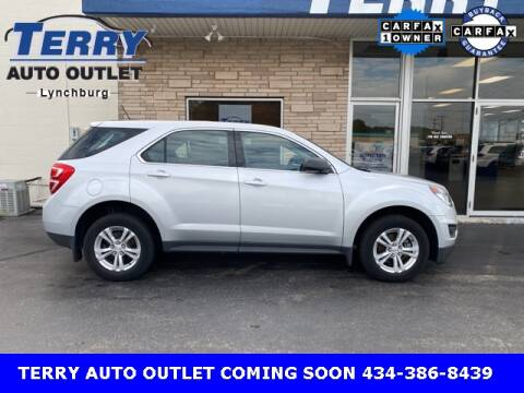 2017 Chevrolet Equinox for sale at Terry Auto Outlet in Lynchburg VA