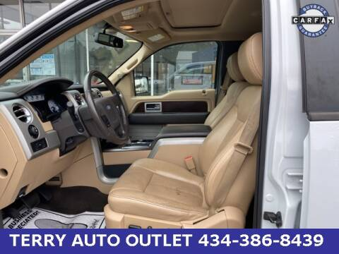 2012 Ford F-150 for sale at Terry Auto Outlet in Lynchburg VA