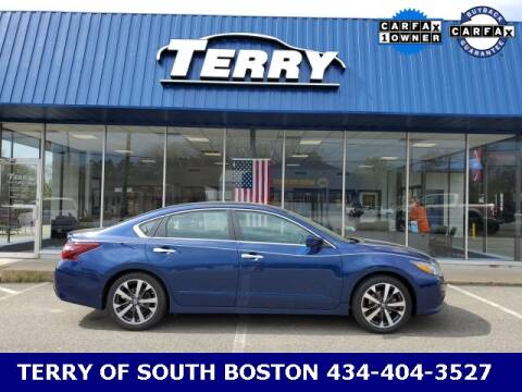 2017 Nissan Altima for sale at Terry of South Boston in South Boston VA