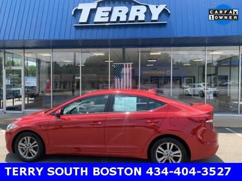 2017 Hyundai Elantra for sale at Terry of South Boston in South Boston VA