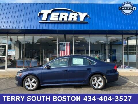 2012 Volkswagen Passat for sale at Terry of South Boston in South Boston VA