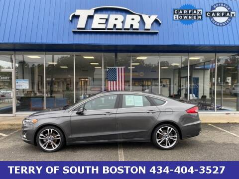 2019 Ford Fusion for sale at Terry of South Boston in South Boston VA
