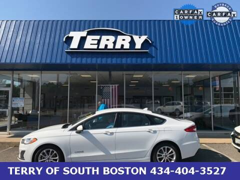 2019 Ford Fusion Hybrid for sale at Terry of South Boston in South Boston VA