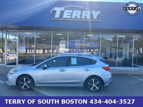 2019 Subaru Impreza for sale at Terry of South Boston in South Boston VA