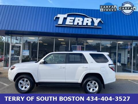 2019 Toyota 4Runner for sale at Terry of South Boston in South Boston VA