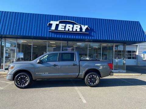 2019 Nissan Titan for sale at Terry of South Boston in South Boston VA