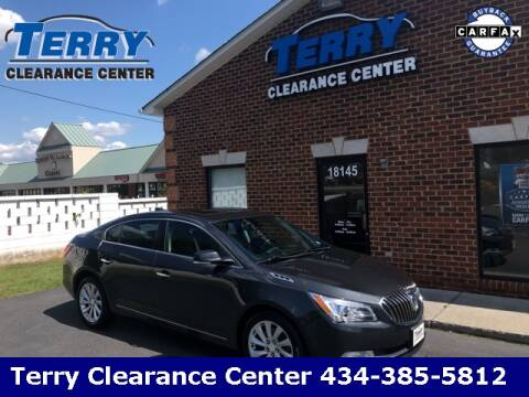2015 Buick LaCrosse for sale at Terry Clearance Center in Lynchburg VA