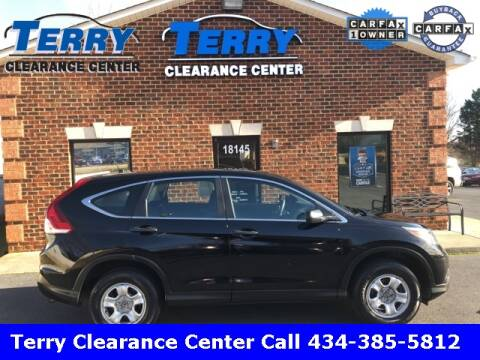 2014 Honda CR-V for sale at Terry Clearance Center in Lynchburg VA
