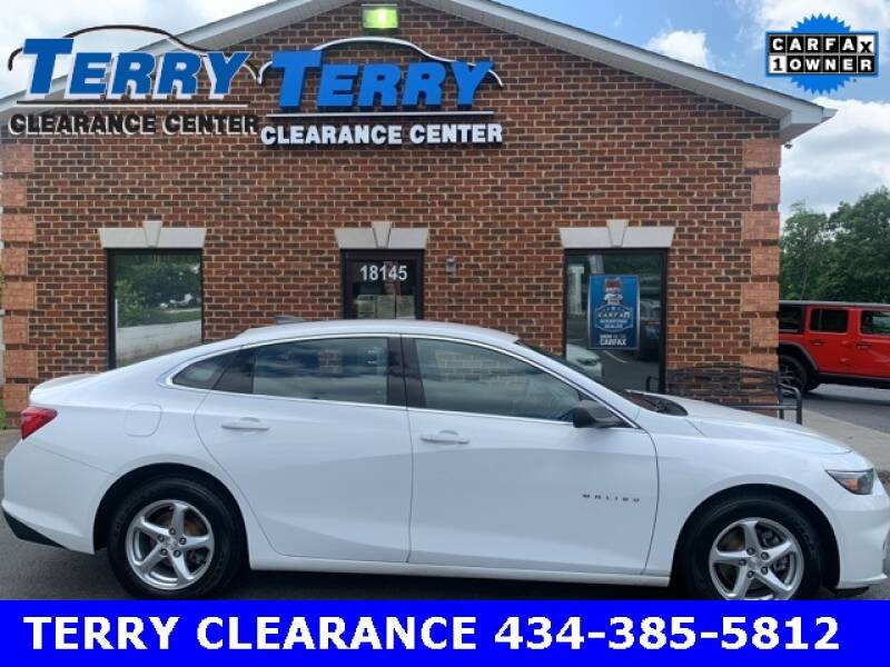2017 Chevrolet Malibu for sale at Terry Clearance Center in Lynchburg VA