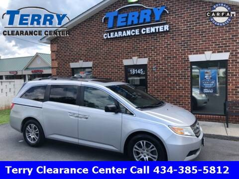2011 Honda Odyssey for sale at Terry Clearance Center in Lynchburg VA