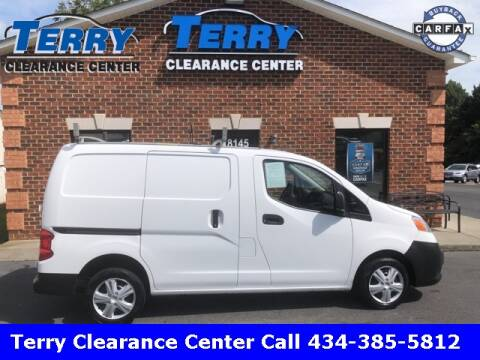 2017 Nissan NV200 for sale at Terry Clearance Center in Lynchburg VA