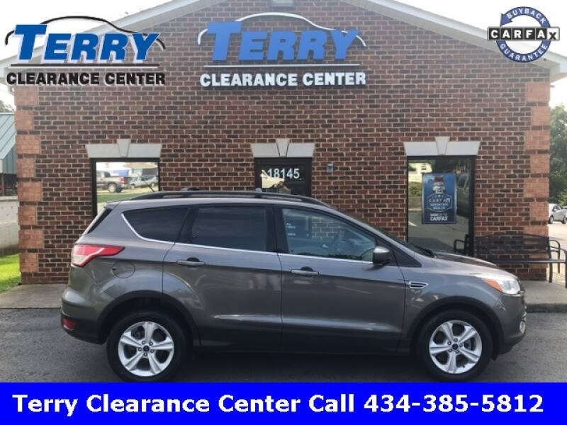 2014 Ford Escape for sale at Terry Clearance Center in Lynchburg VA
