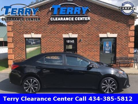 2017 Toyota Corolla for sale at Terry Clearance Center in Lynchburg VA