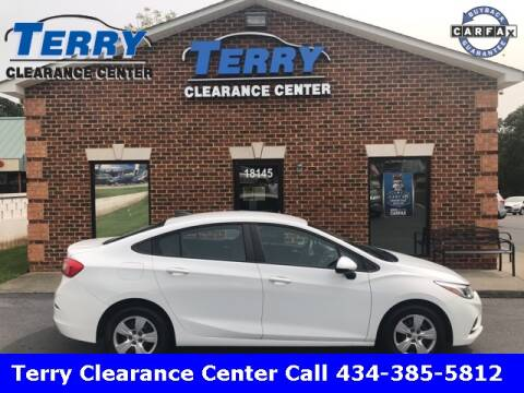 2016 Chevrolet Cruze for sale at Terry Clearance Center in Lynchburg VA