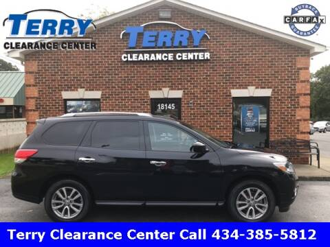 2015 Nissan Pathfinder for sale at Terry Clearance Center in Lynchburg VA