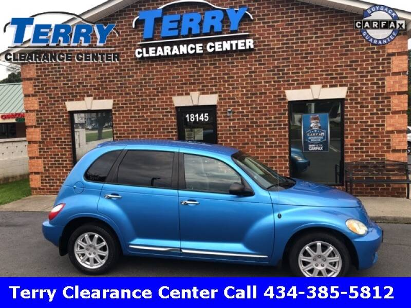 2009 Chrysler PT Cruiser for sale at Terry Clearance Center in Lynchburg VA