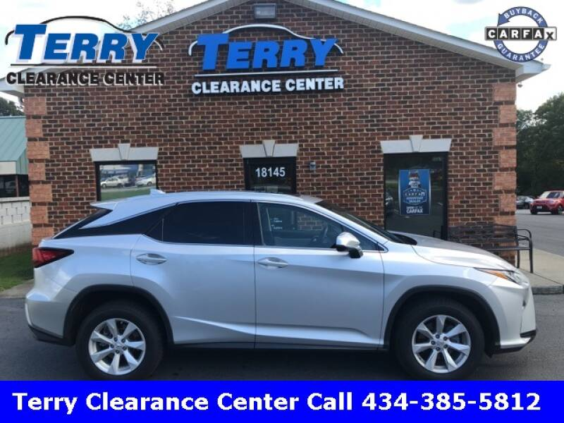 2016 Lexus RX 350 for sale at Terry Clearance Center in Lynchburg VA