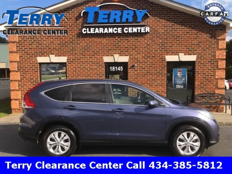 2012 Honda CR-V for sale at Terry Clearance Center in Lynchburg VA