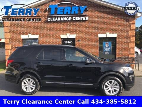 2018 Ford Explorer for sale at Terry Clearance Center in Lynchburg VA