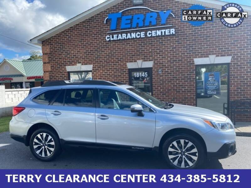 2017 Subaru Outback for sale at Terry Clearance Center in Lynchburg VA