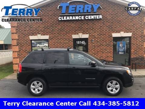 2013 Jeep Compass for sale at Terry Clearance Center in Lynchburg VA