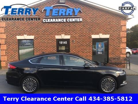 2017 Ford Fusion for sale at Terry Clearance Center in Lynchburg VA