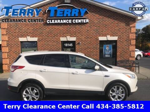 2013 Ford Escape for sale at Terry Clearance Center in Lynchburg VA