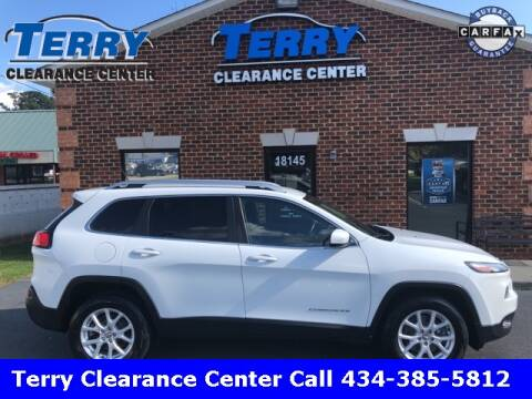 2015 Jeep Cherokee for sale at Terry Clearance Center in Lynchburg VA