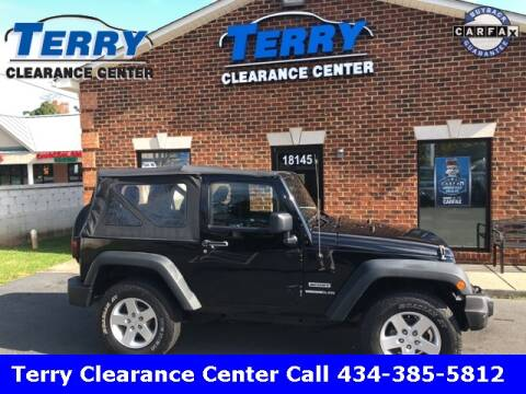 2013 Jeep Wrangler for sale at Terry Clearance Center in Lynchburg VA