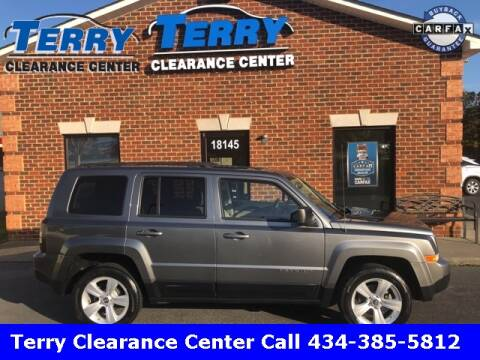 2012 Jeep Patriot for sale at Terry Clearance Center in Lynchburg VA