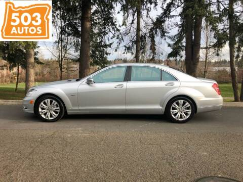 2010 Mercedes-Benz S-Class S 400 Hybrid for sale at 503 Autos in Milwaukie OR