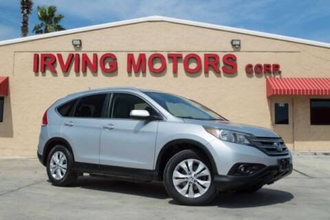 2013 Honda CR-V for sale at Irving Motors Corp in San Antonio TX