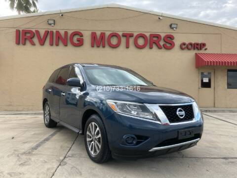 2014 Nissan Pathfinder for sale at Irving Motors Corp in San Antonio TX