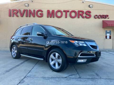 2013 Acura MDX for sale at Irving Motors Corp in San Antonio TX