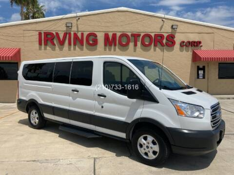 2018 Ford Transit Passenger for sale at Irving Motors Corp in San Antonio TX