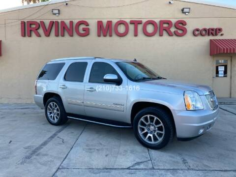 2010 GMC Yukon for sale at Irving Motors Corp in San Antonio TX