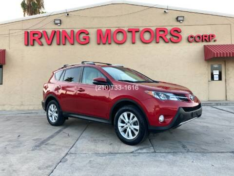 2014 Toyota RAV4 for sale at Irving Motors Corp in San Antonio TX