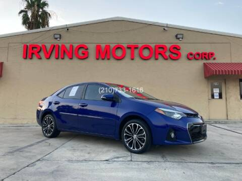 2014 Toyota Corolla for sale at Irving Motors Corp in San Antonio TX