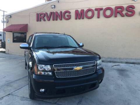 2009 Chevrolet Suburban for sale at Irving Motors Corp in San Antonio TX