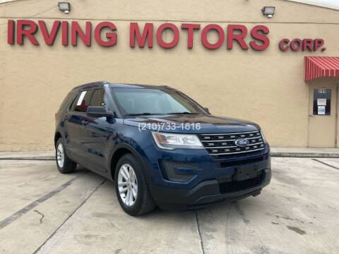 2016 Ford Explorer for sale at Irving Motors Corp in San Antonio TX