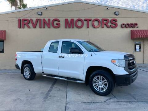 2015 Toyota Tundra for sale at Irving Motors Corp in San Antonio TX