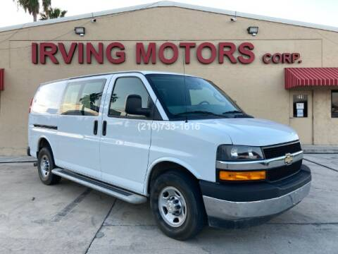 2018 Chevrolet Express Cargo for sale at Irving Motors Corp in San Antonio TX
